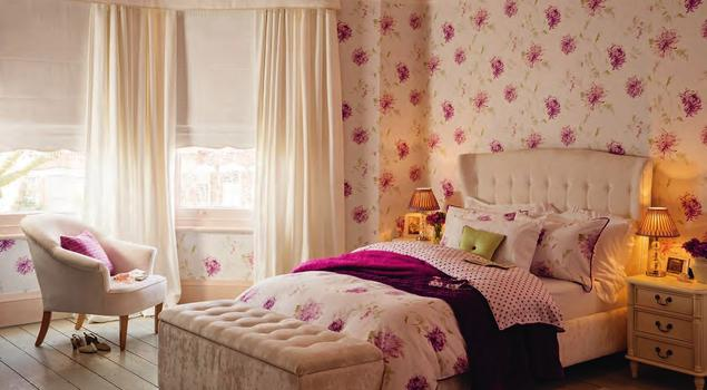 ponadczasowe i nieszablonowe wn trza w stylu laura ashley. Black Bedroom Furniture Sets. Home Design Ideas