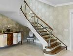 Nowoczesne schody gięte ST795 TRĄBCZYŃSKI - zdjęcie 1