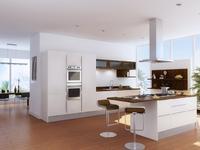 Pomysł na kuchnię - nowoczesna kuchnia z wyspą