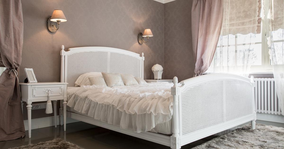 Białe Meble Do Sypialni Sypialnia W Stylu Vintage