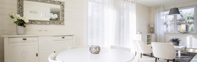 Jadalnia z salonem - pomysł na wnętrze