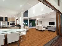 Panele laminowane w kolorze bursztynu – najnowszy trend aranżacji mieszkań