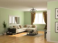 Kolory ścian w salonie – najnowsze trendy